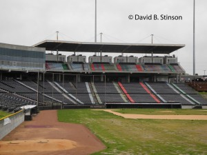 The Now-Abandoned Knights Stadium in Fort Mill, South Carolina