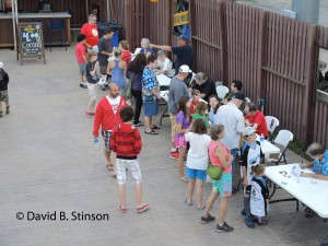 Fans Line Up To Meet Comic Book Artist at Hudson Valley Renegades Night