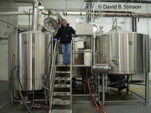 Ernie Igot, Head Brewer, Peabody Heights Brewery, Baltimore, Maryland