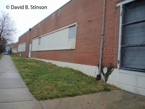 Former Location of Old Oriole Park Home Plate Just South of Peabody Heights Brewery, Baltimore, Maryland