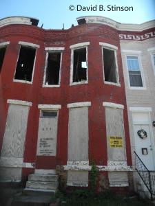 529 East 23rd Street, Baltimore, Maryland, Former Home of Hughie Jennings