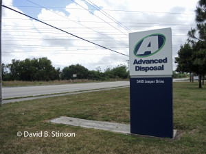 Advanced Disposal Company, Located Across Havermill Road From Future Nationals Spring Training Site