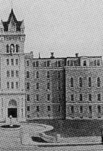 Detail of Xaverian Brothers Photo of St. Mary's Industrial School For Boys, Circa 1900, before the 1919 Fire